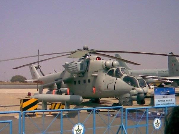 En Inde, ils ont dit ce qu'ils pensaient du Mi-35