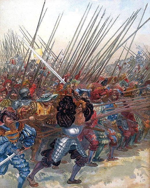 Заря капитализма: рыцари уступают поле боя ландскнехтам