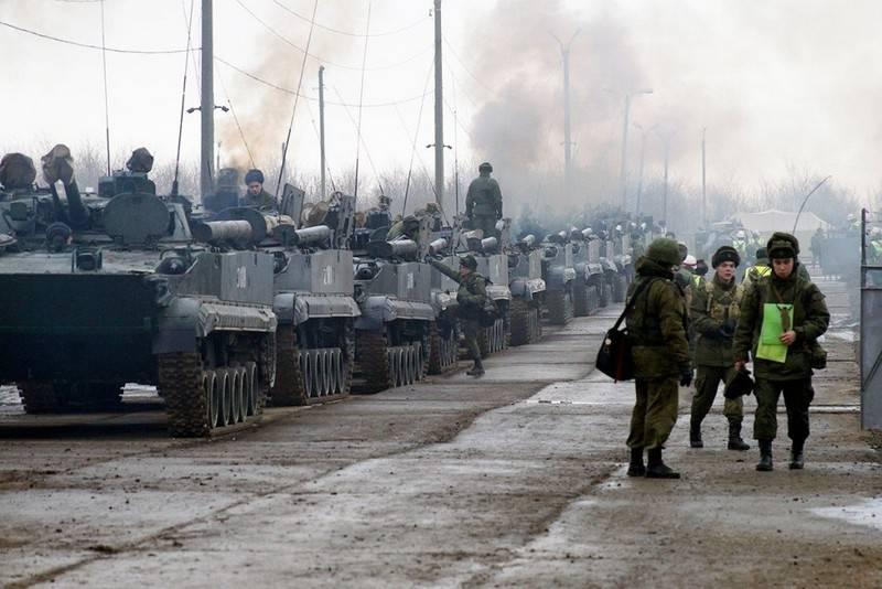 В Южном военном округе развернут две новые дивизии