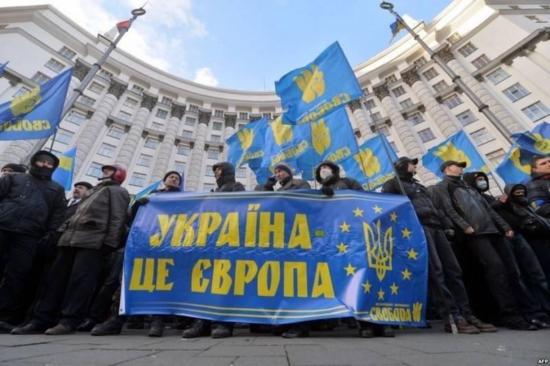 यूक्रेन ने यूरोपीय संघ में प्रवेश करने पर क्षेत्रों के हिस्से के नुकसान की भविष्यवाणी की