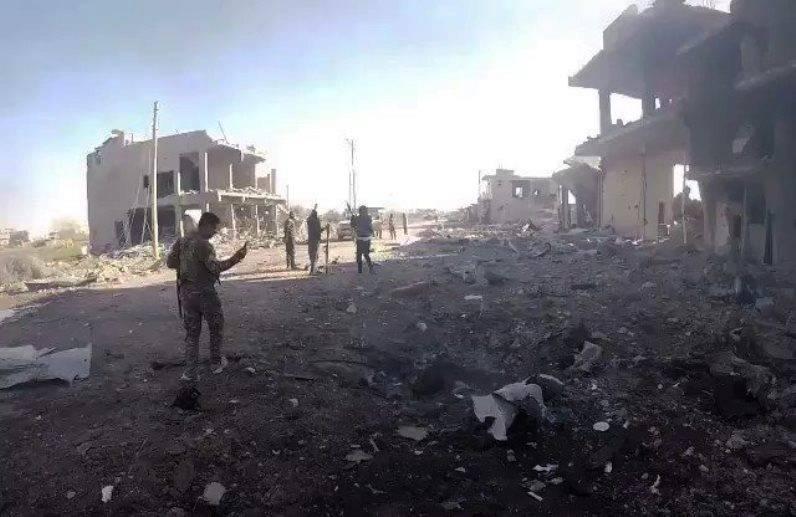 Los terroristas IG serán retirados de la orilla este del Éufrates