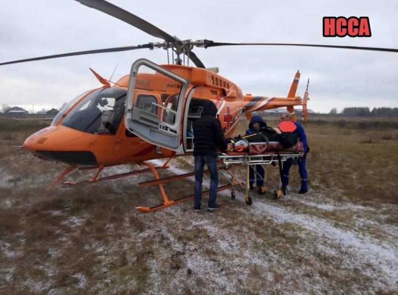 Медицинская скорая помощь России пересаживается на вертолёты