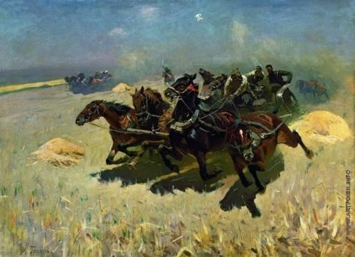 Tachanka armato dell'Armata Rossa