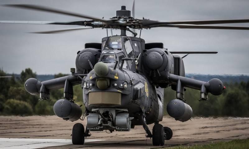 La livraison du lot d'installation des hélicoptères Mi-28HM est différée