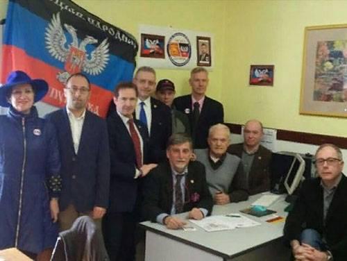 Ucrania respondió a la apertura de la representación del DPR en Italia.