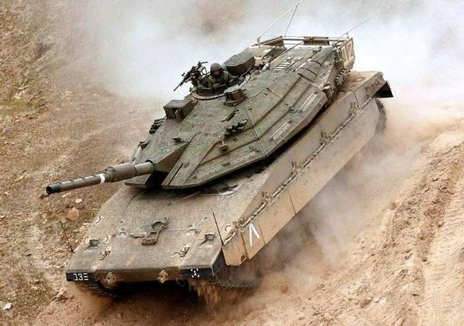 이스라엘 탱크, 시리아 남부에서 헤즈볼라 포위 공격
