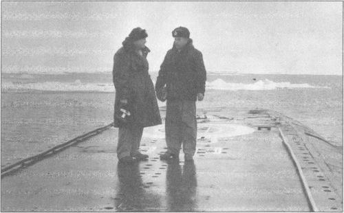 冷戦水中。 ソビエト潜水艦がアメリカ人をどのように撃退したか