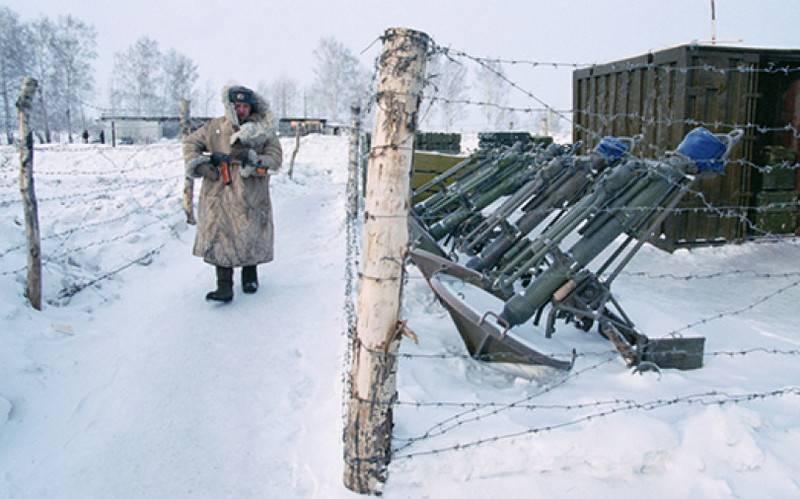 En Rusia, se desarrollaron dispositivos para el control de la guardia.