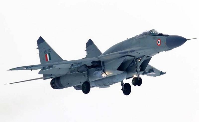 L'India ha iniziato i negoziati per l'acquisto urgente di combattenti russi MiG-29
