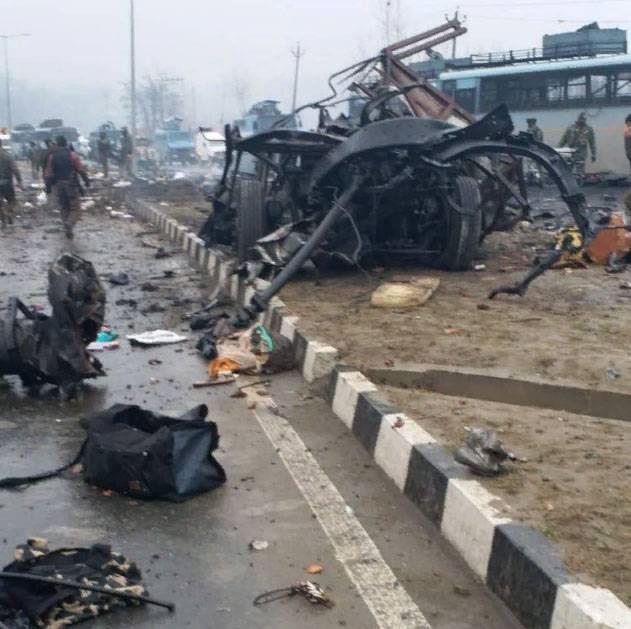 भारत में बड़ा आतंकवादी हमला