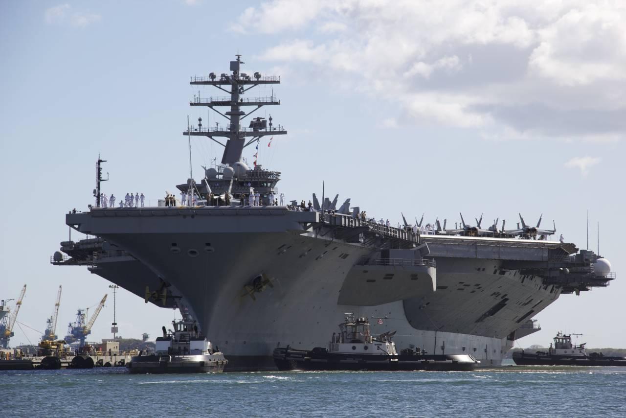15 апреля 2019 — Авианосец ВМС США идёт к Чёрному морю – Россия подготовила мощный ответ