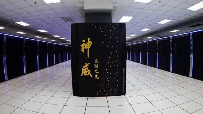 중국은 최신 슈퍼 컴퓨터를 개발 중이다.