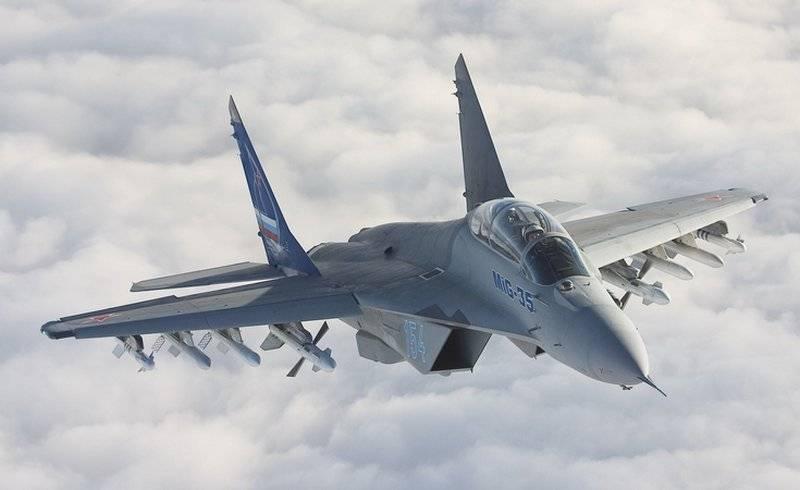 ロシアはMiG-35戦闘機の生産技術をインドに移転する準備ができています