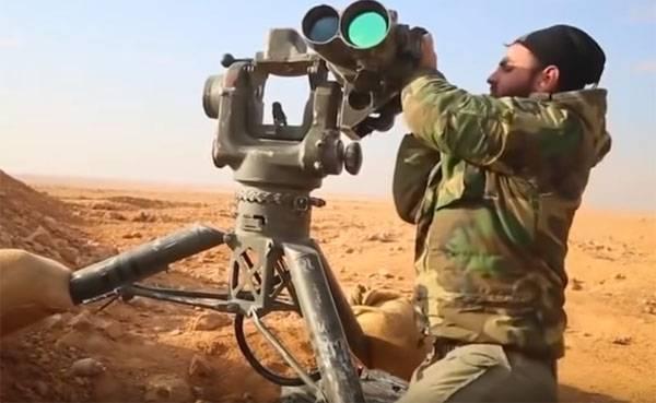 Бравада боевиков в Сирии с TOW: Русские танки только и годятся на то, чтобы гореть