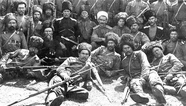 고약. 영광스러운 길 코삭 (Cossack) 특수 부대