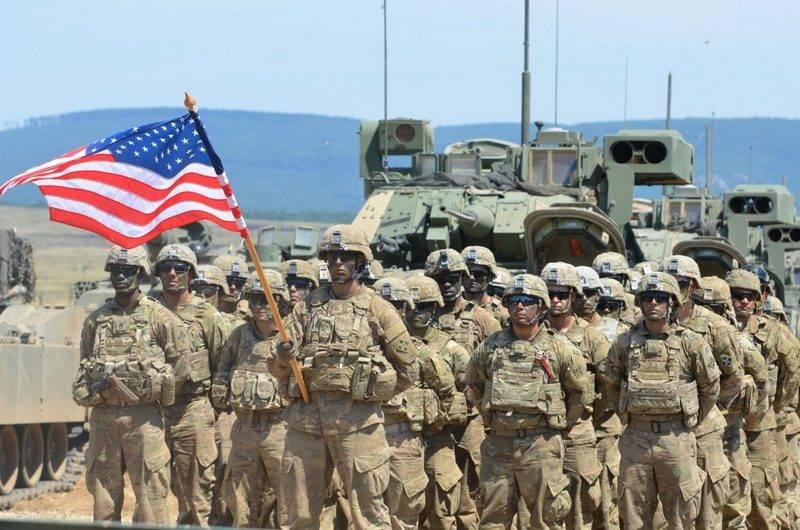 Aux États-Unis a déclaré le faible niveau de préparation au combat de l'armée américaine