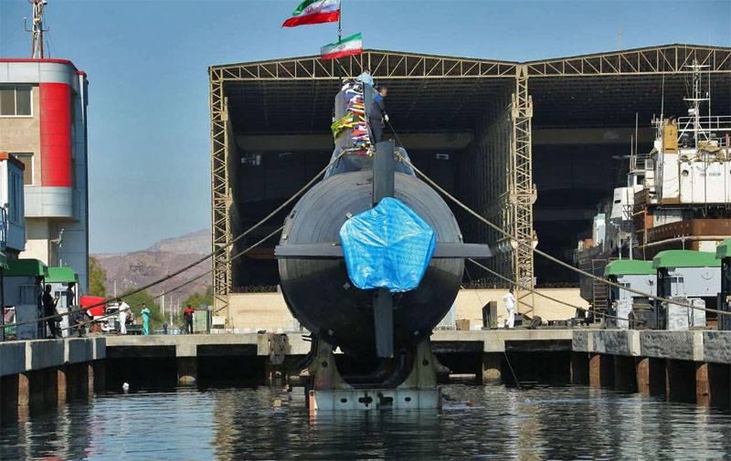 Submarino Fateh Irán lanzó: misiles de crucero al servicio de la flota submarina