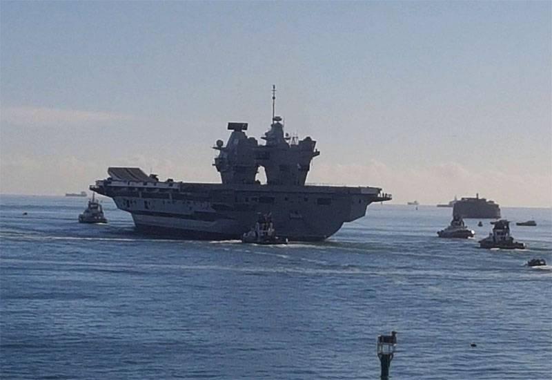 エリザベス女王空母に対するロンドンの決定に対する中国の対応