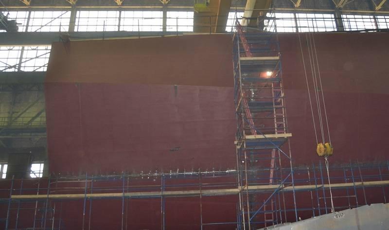 """GCC """"North Shipyard"""": le projet Corvette 20386 """"Daring"""" est basé sur 12%"""