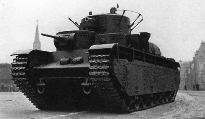 T-35: बेकार शक्ति