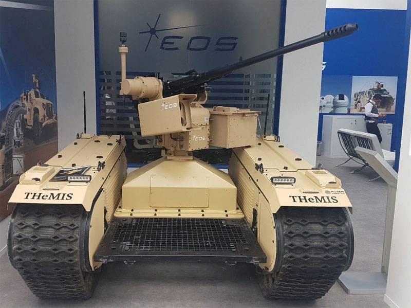 オーストラリア - エストニアの戦闘用地上無人機がIDEX-2019で発表