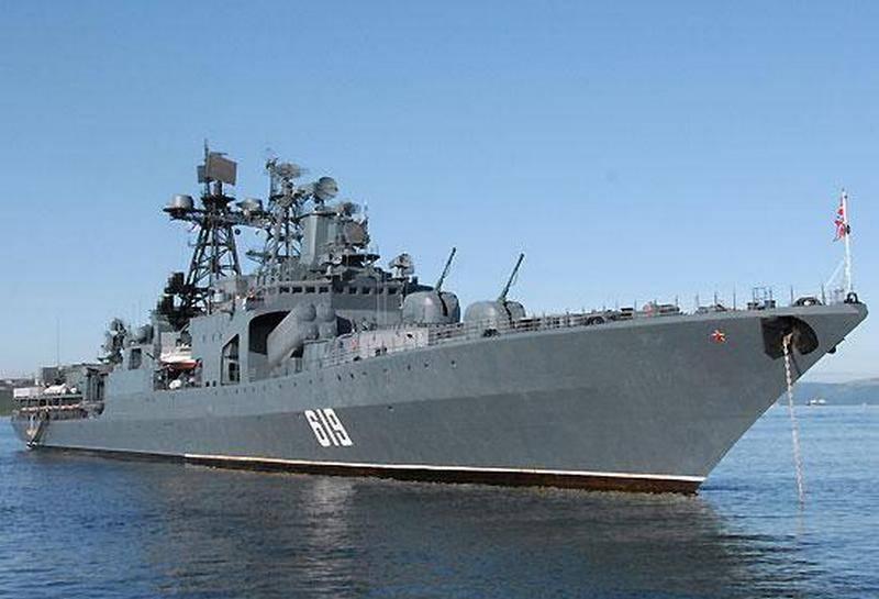 "BOD ""Severomorsk"" terminó las reparaciones técnicas en Sebastopol"