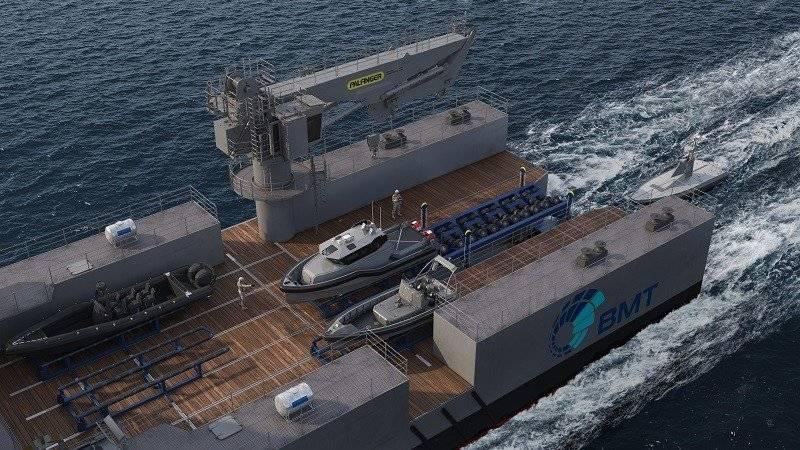 यूएई में प्रदर्शनी में उभयचर जहाजों के लिए एक फीड सिस्टम प्रस्तुत किया