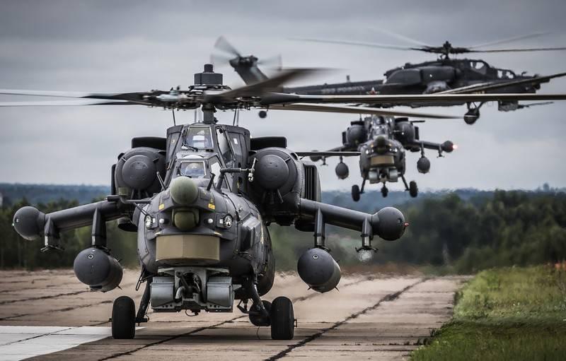 दो नए Mi-28N ने सेना विमानन ZVO की ब्रिगेड में प्रवेश किया