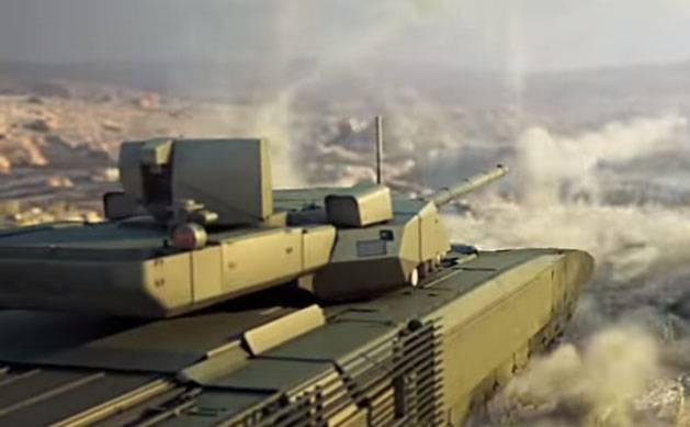 Tank-drone: el objetivo del futuro cercano para los militares KB de Rusia