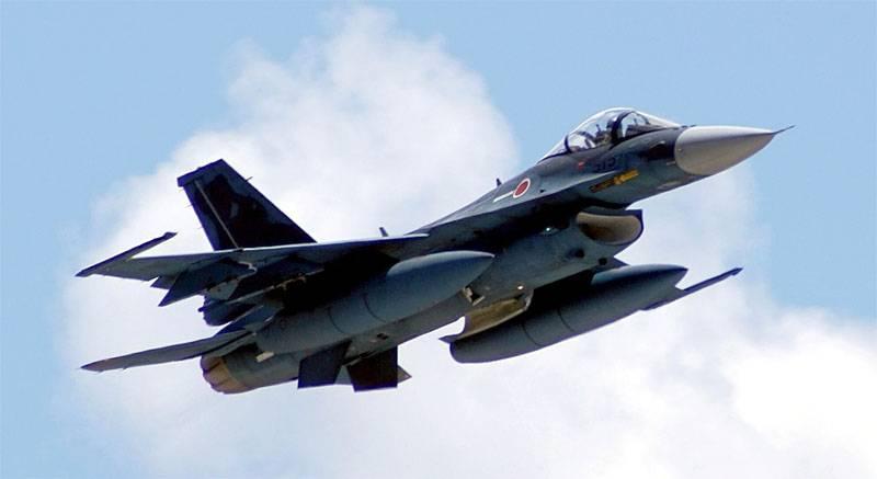 जापान में, F-2 फाइटर बॉम्बर रडार स्क्रीन से गायब हो गया
