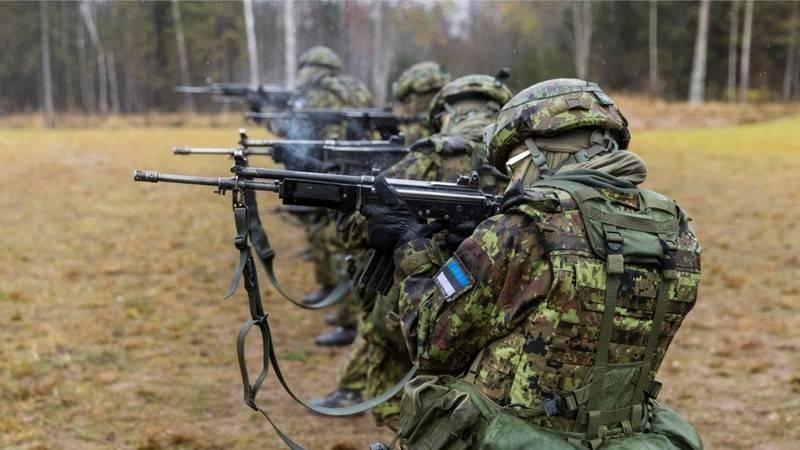エストニア国防省の代表は、国は戦争に備えていると述べた