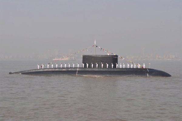 Flota submarina india salvada por la reparación y logística rusa