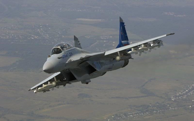 Rusia realizó una presentación del caza MiG-35 para la Fuerza Aérea de la India