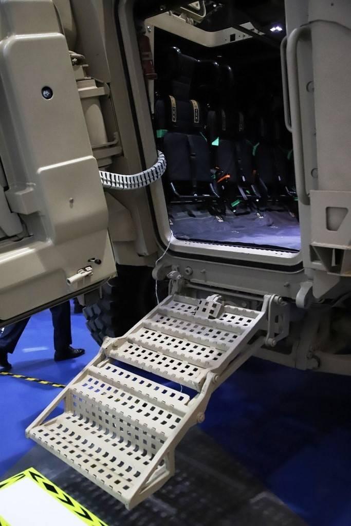 Transporte blindado de personal Calidus Wahash (EAU)