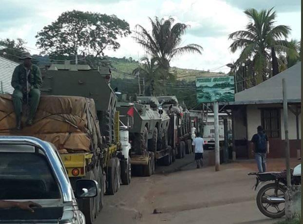 Maduro ha inviato truppe al confine con il Brasile