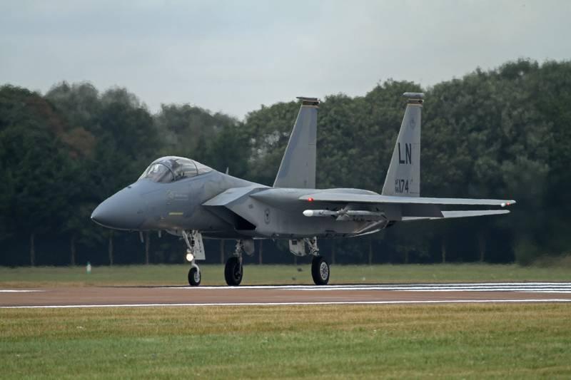 미국 F-15, 7 백만 달러 로켓 사망