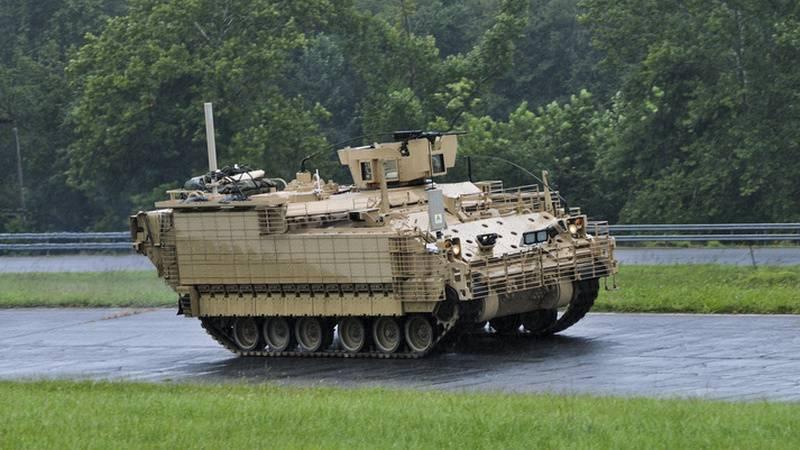 미 육군은 M113 장갑차를 제거합니다.
