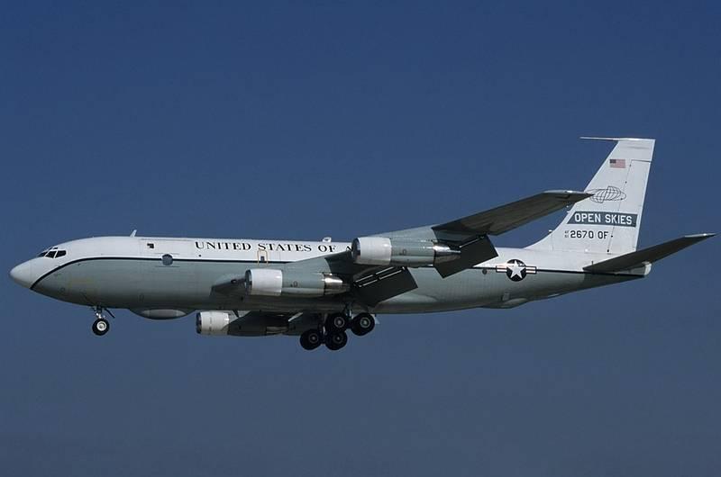 США возобновили полёты в рамках Договора по открытому небу