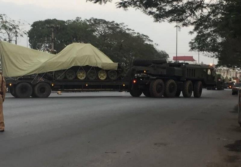 Вьетнам получил вторую партию российских танков Т-90С