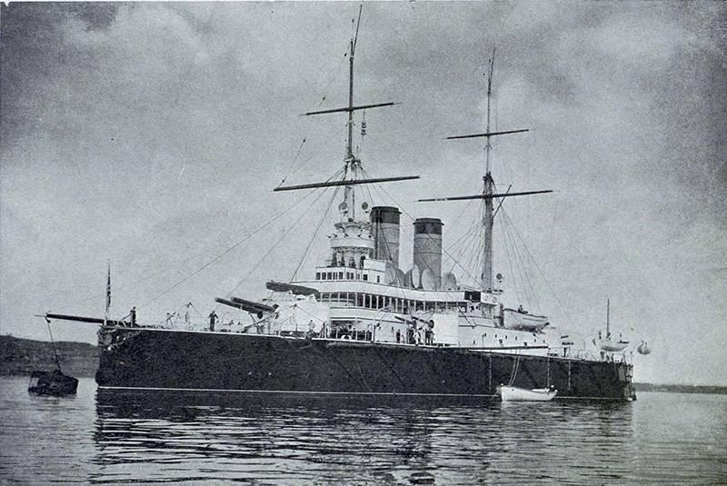 "Chantier naval nommé d'après 61 communard. Cuirassé ""Rostislav"""