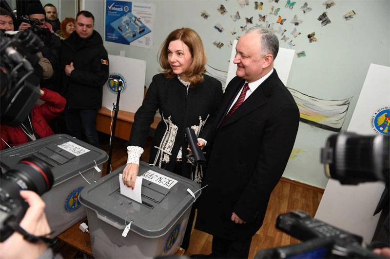 मोल्दोवन चुनाव के प्रारंभिक परिणाम घोषित