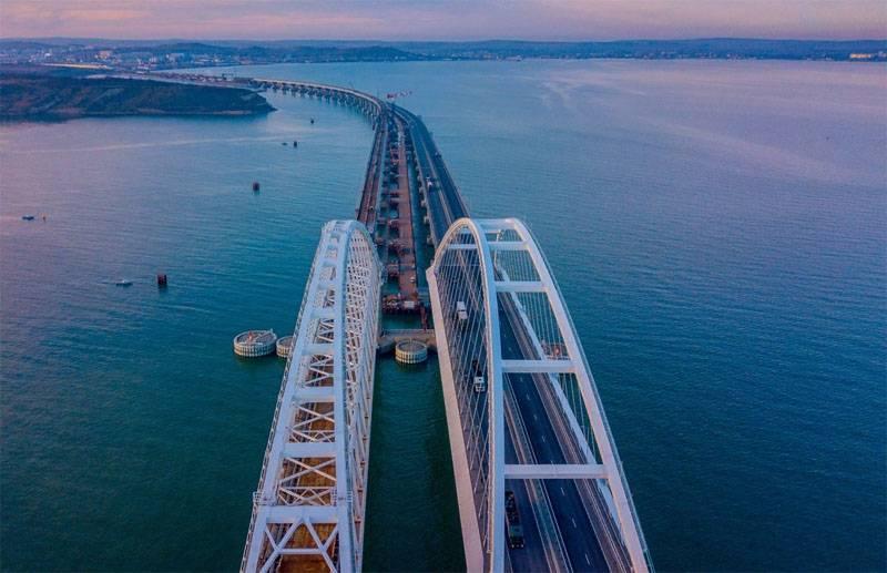 Украинский эксперт: Крымский мост построили не там