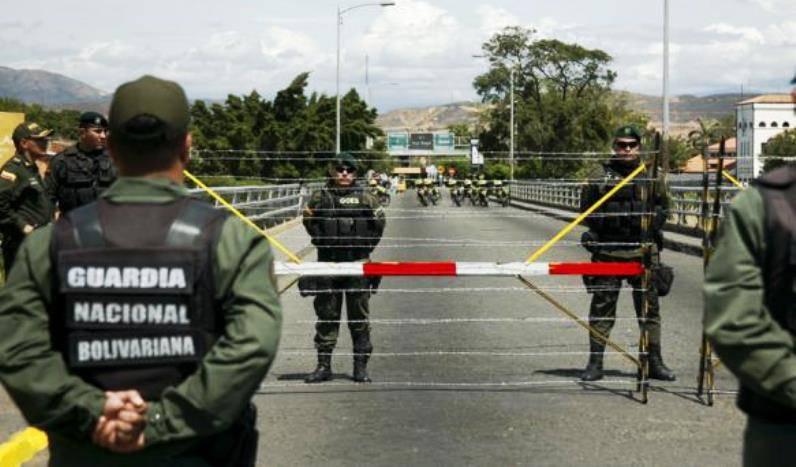 Венесуэльское подразделение отбило атаку на приграничный КПП