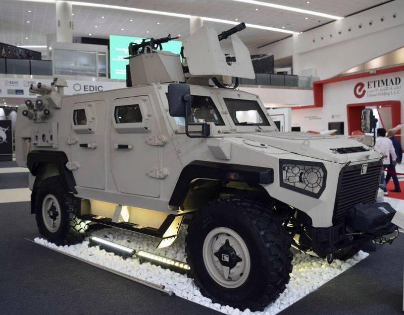 बख्तरबंद कार अजबन निम्र एक्सएनएमएनएक्सए एमआरवी