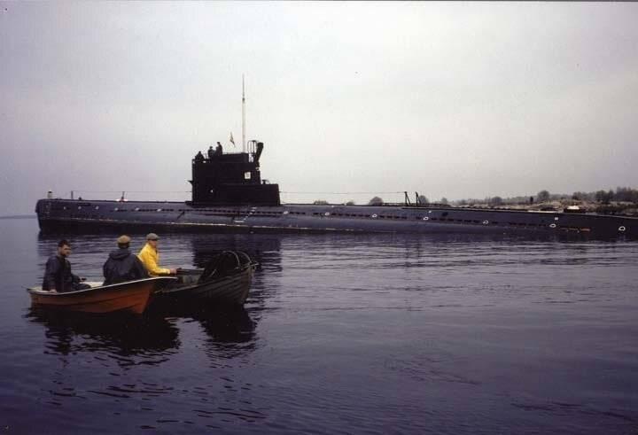 잠수함과 심리적 인 전쟁. 1의 일부
