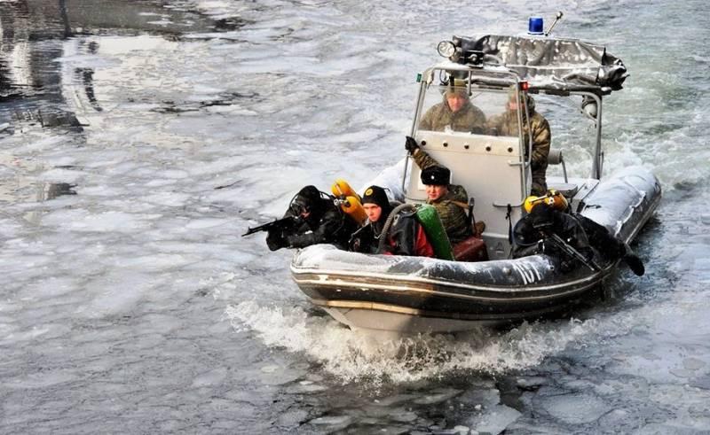 На Северном флоте создан отряд по борьбе с диверсантами