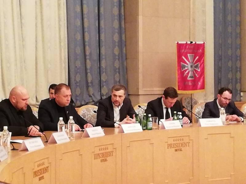 Сурков посетил заседание Союза добровольцев Донбасса