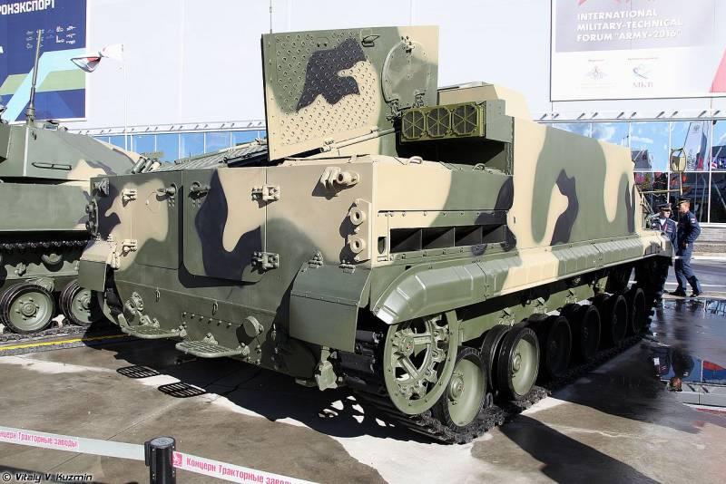 Плавающий бронетранспортёр БТ-3Ф