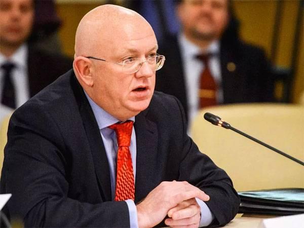Небензя в ООН рассказал, почему применено вето к резолюции США по Венесуэле