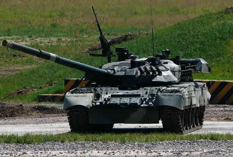 """टैंक की अग्नि नियंत्रण प्रणाली। CH 5। T-80U, М1, """"तेंदुए 2"""" टैंकों और Т-72 परिवार का LMS"""